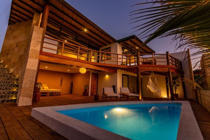 Casas Lua & Mar (Villa 4) - Vichayito - Máncora