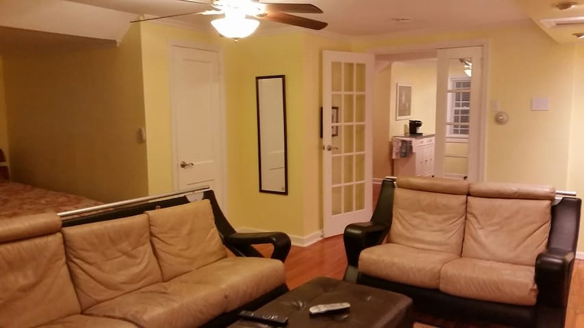 Studio/1 bed apt priv kitch,bath,parking,entrance - Fair Lawn - Apartment