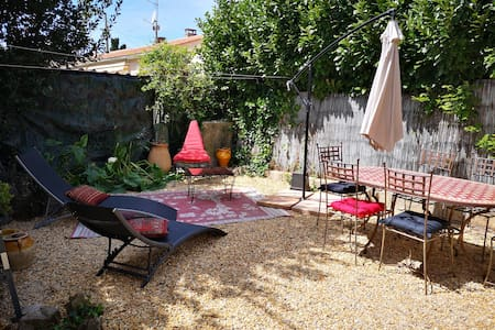 5 persons,30sq/m flat with private garden/bbq