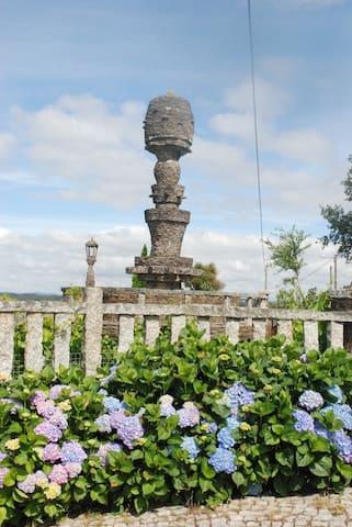 Casa Bartulo I. Casa bonita, tranquila y acogedora - Santiago de Compostela - Dom