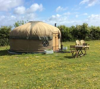 Jurassic Yurt near Durdle Door