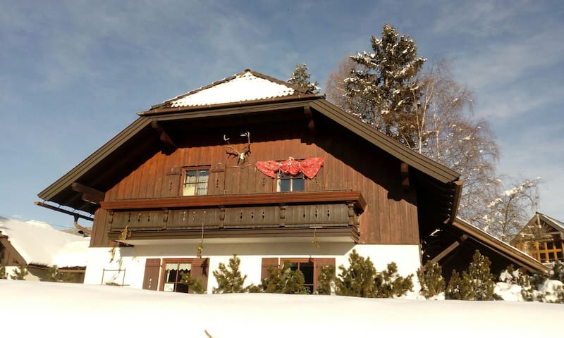 Gemütliches Haus - günstiger (Ski-) Urlaub ! :)