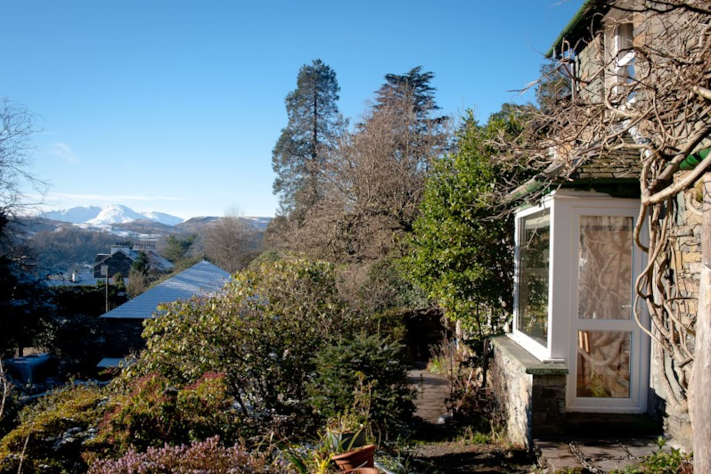 Stunning views with a south facing aspect