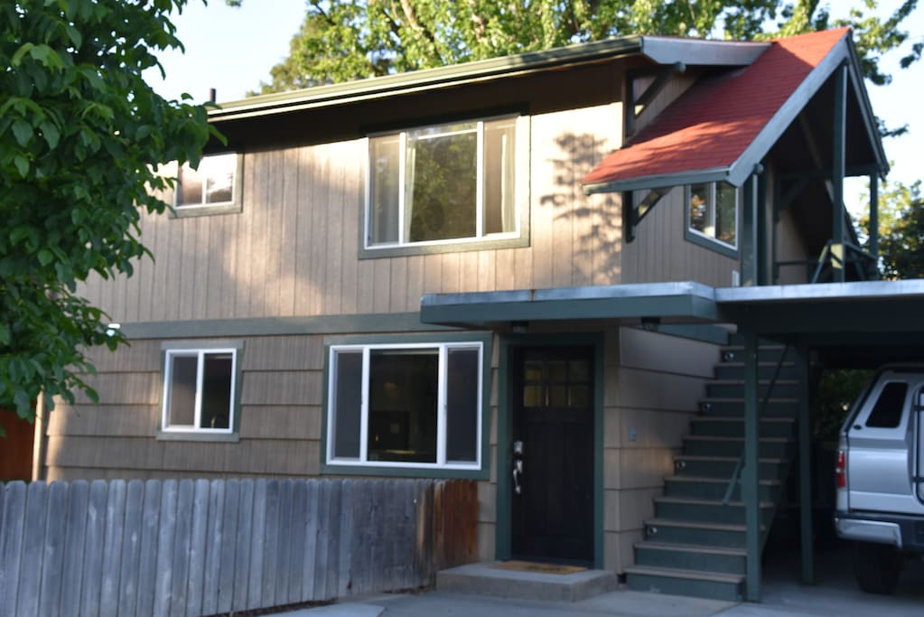 Upper and lower duplex - both rented through Airbnb