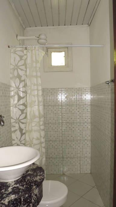 Banheiro exclusivo