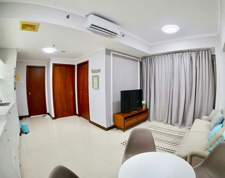 Comfortable apartement in waterplace residence