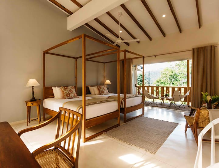 Top House Twin Room - Rukgala Retreat