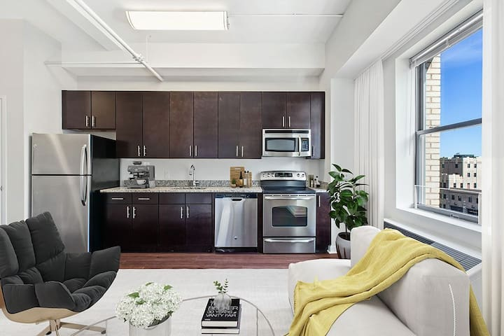 Entire apartment for you | Studio in Jersey City