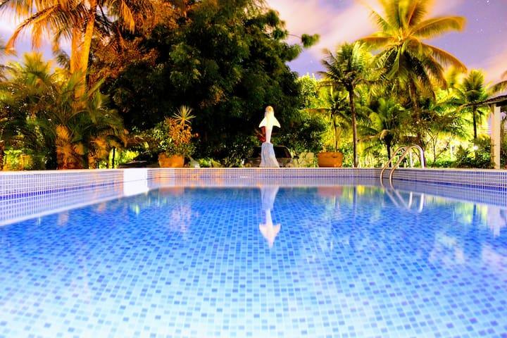 Casa com Piscina na Ilha de Itamaracá