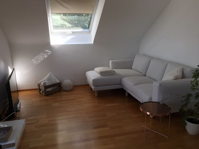 Wohnung mit Blick über Stuttgart