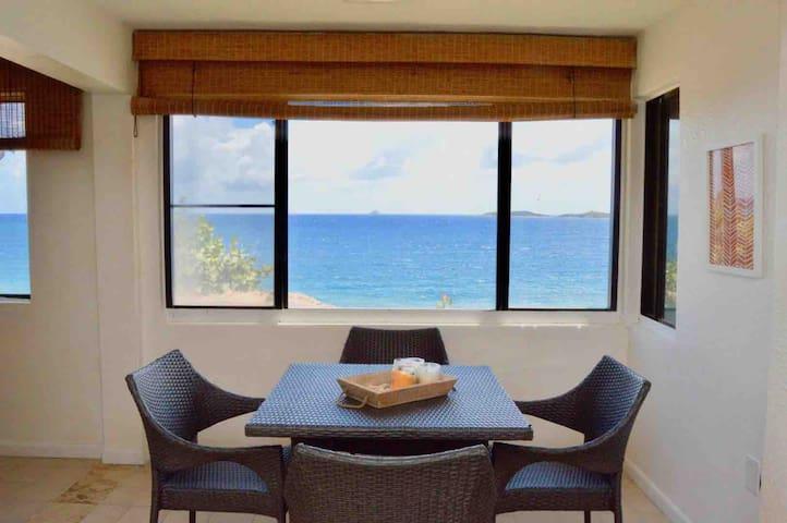 Sunny Ocean View Condo at Sea Cliff!