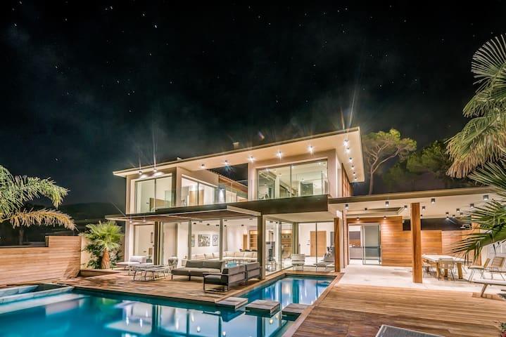 Villa d'exception, vue mer, domaine privé
