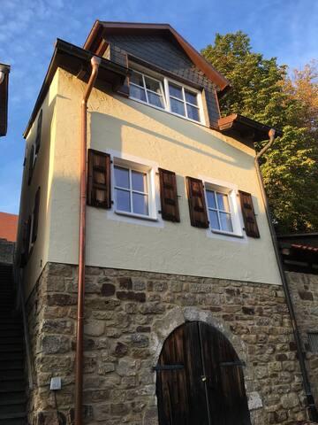 Ferienhaus an der Kirchenburg