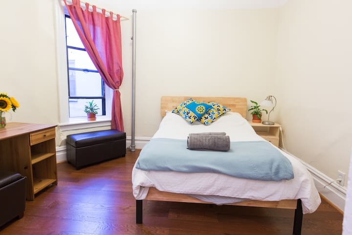 Charming, Spacious Private Room in Harlem, NYC