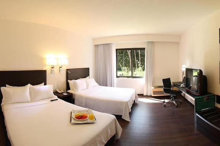 Relaxing Room Deluxe Double Bed At Xalapa
