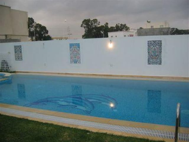 Home with pool in yasmine hammamet - Hammamet south - Rumah percutian