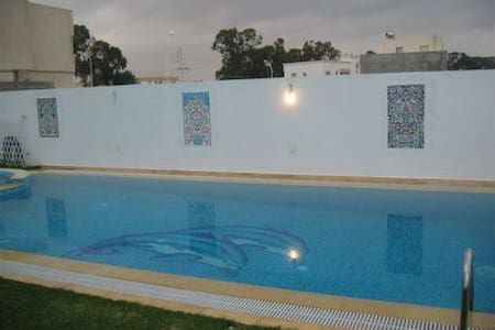 Home with pool in yasmine hammamet - Hammamet south - Loma-asunto