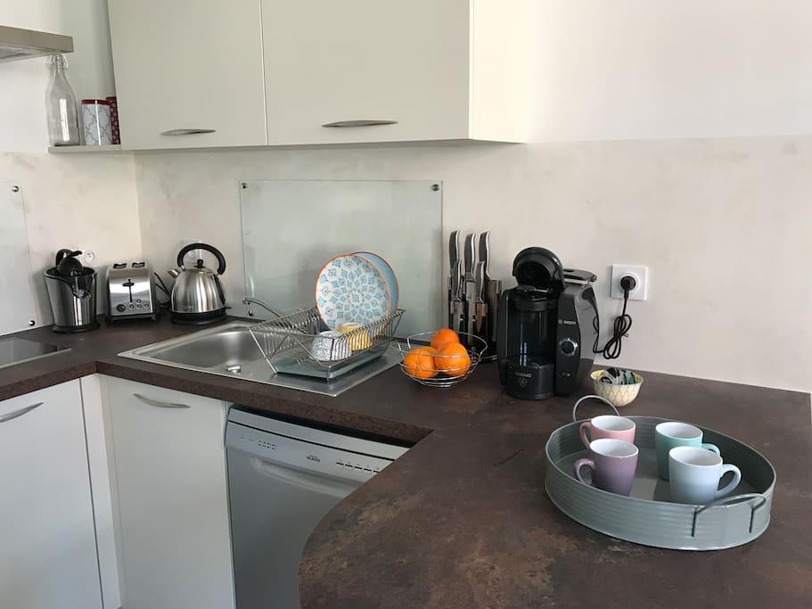 Cuisine - Tous les équipements nécessaires pour profiter de votre séjour sont à disposition