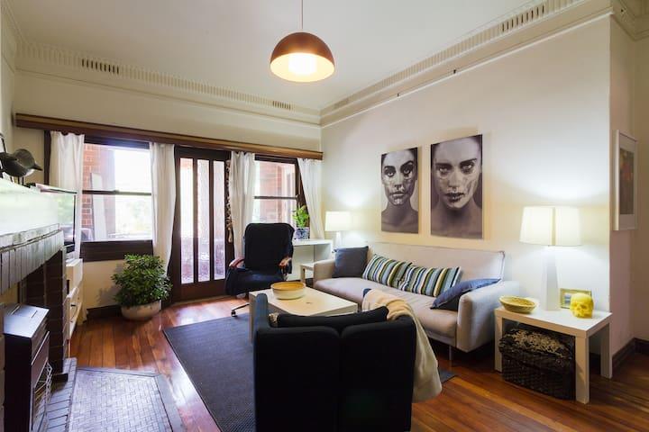 Charmante petite chambre à Manly - Manly - Appartement