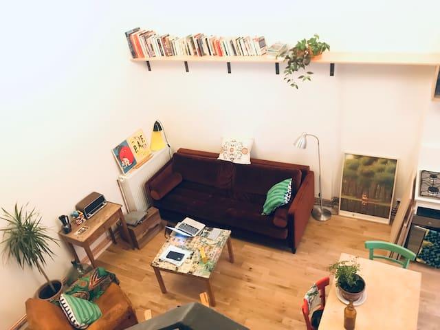 Petit loft à Lyon