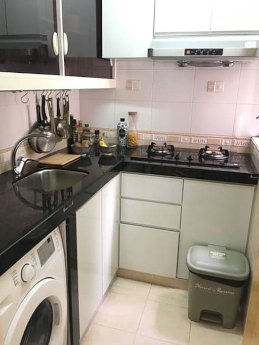 Furnished and convenient Kitchen