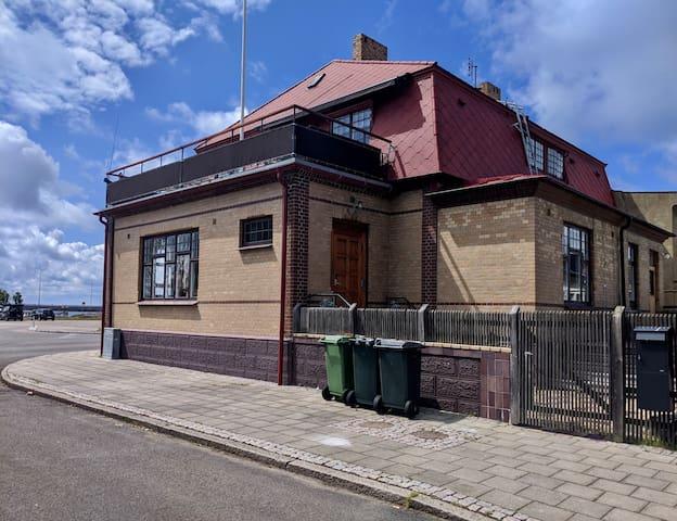 Redarvillan i Höganäs hamn