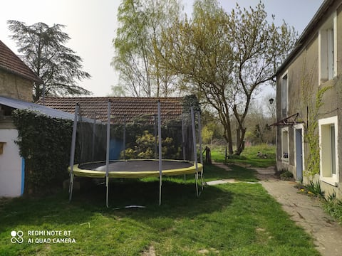 40 m2 autonome dans corps de ferme éco-responsable