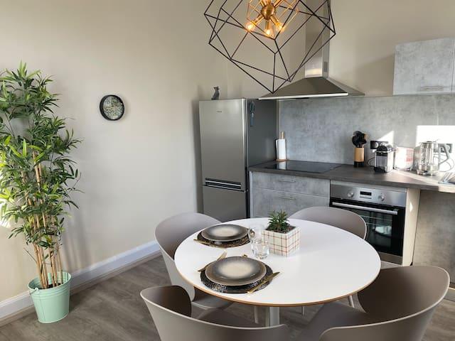 Superbe appartement dans maison de maître