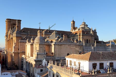 ALHUMBRA PENTHOUSE: Charming sunny loft with views - Granada - Loft