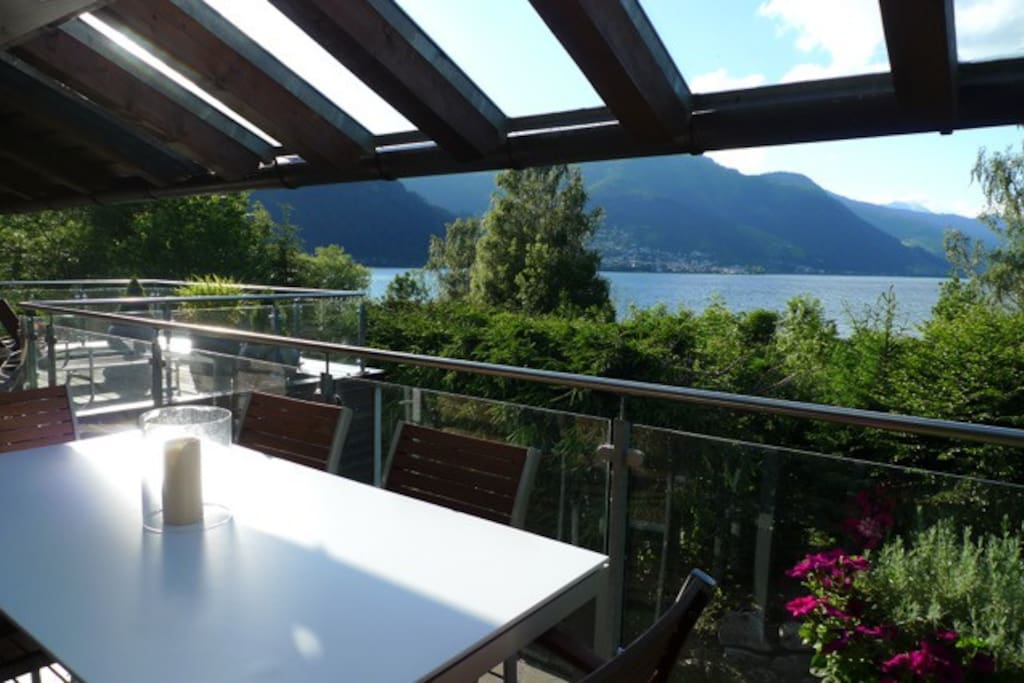 Terrace lake view /Terrasse  Seeblick1