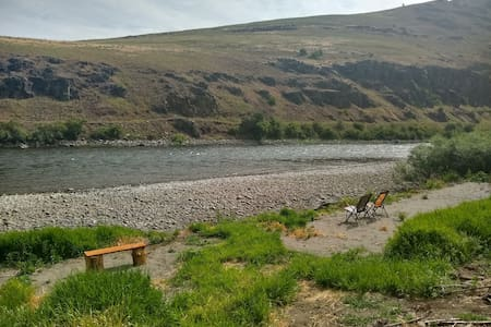 Grande Ronde River fisherman house