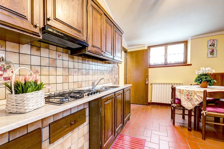 PANORAMICO Apartment Cortona Tuscany