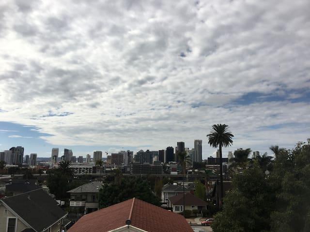 San Diego DowntownViews Golden Hill East Village