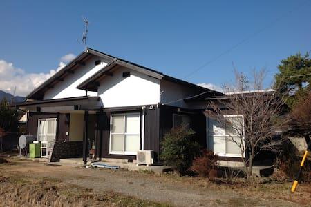 針の木-峰 - Ōmachi-shi - Haus
