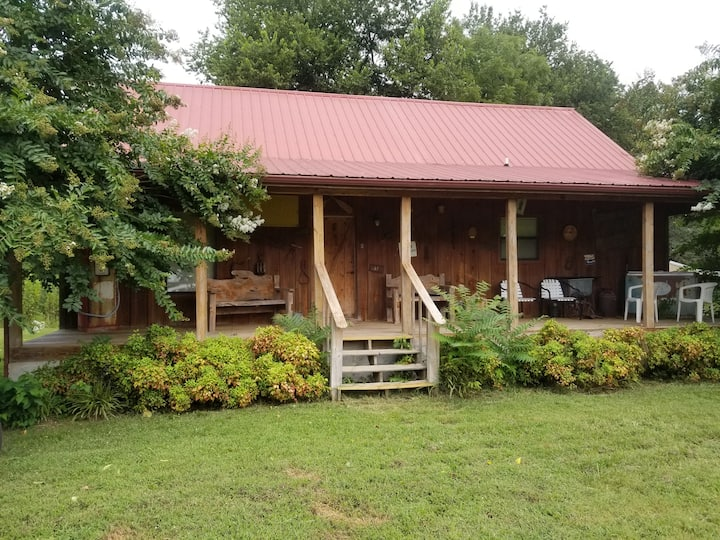 The Cabin in Sunset Valley on the White River