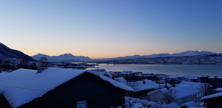 Cozy new dorm on the sunny side of Tromsø