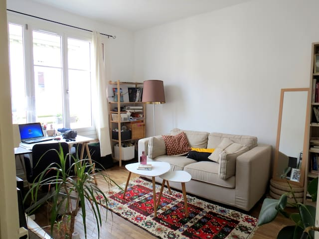 Jolie appartement dans le quartier Saxe-Gambetta