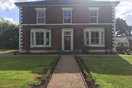 Cosy double bedroom - Derbyshire - Rumah