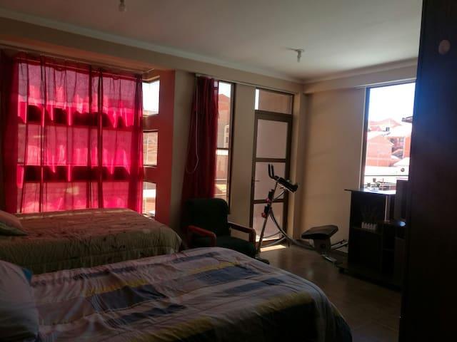 Apartamento Completo de tres dormitorios