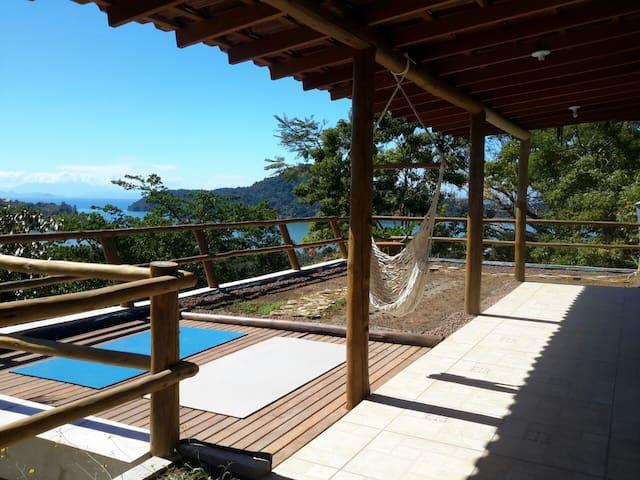Alto do Tiê, Suíte Azul, entre serra e mar, Paraty - Río de Janeiro - Bed & Breakfast