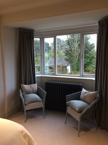 Double Bedroom with Garden View - Ditchling - Casa