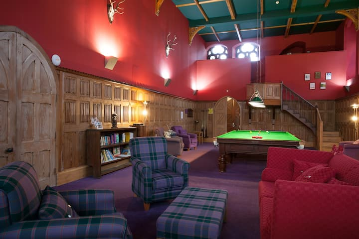 Glen Affric, Highland Club Scotland, Chapel flat