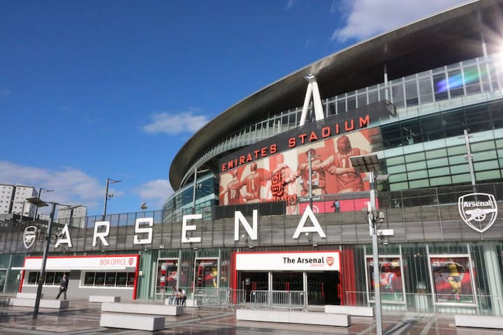 Entire Apartment next to Arsenal Emirates Stadium.
