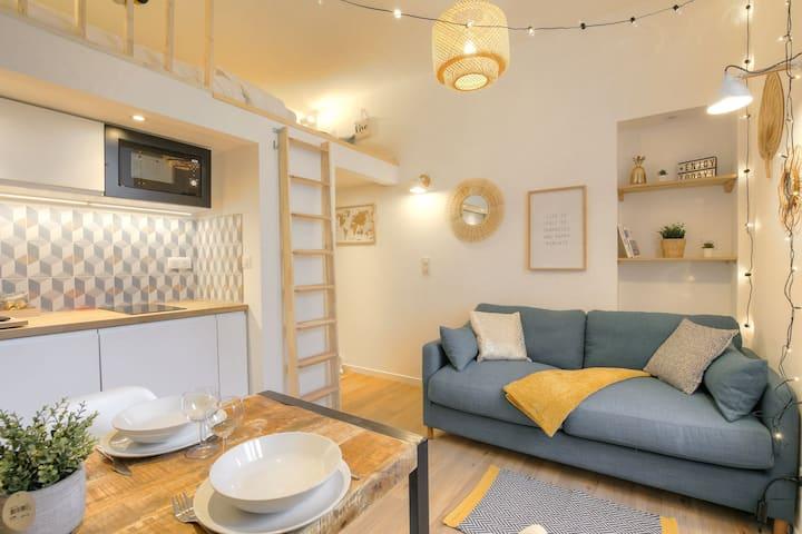 Pleasant apartment near Vaise station