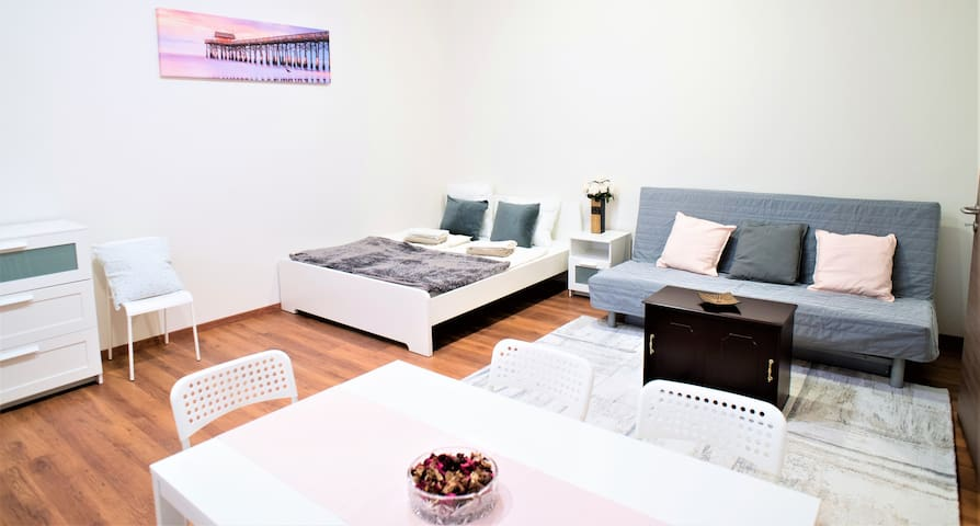 Fully renewed, modern apartment at the center