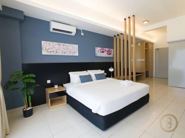 沙巴亚庇舒适独立套房-近机场&市区 Kota Kinabalu Aeropod 3.0  2pax