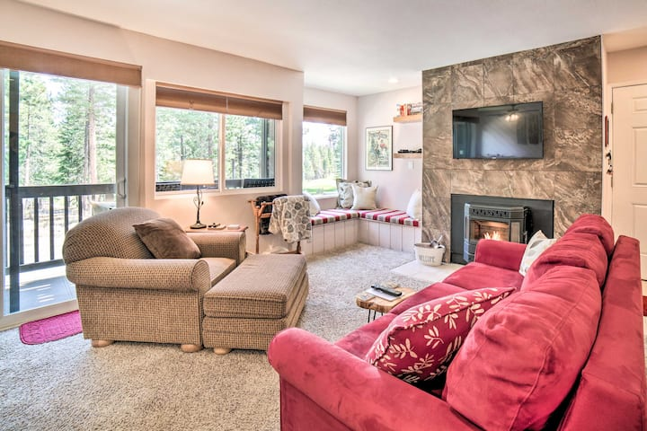 Mammoth Lakes Condo w/Pool+Spa Access Near Slopes!