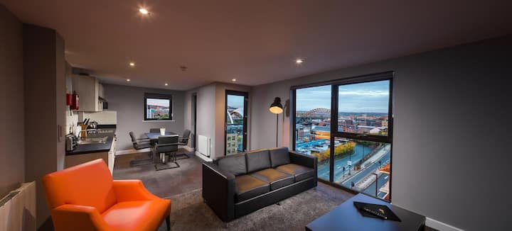Quayside Two Bedroom Penthouse Apartment