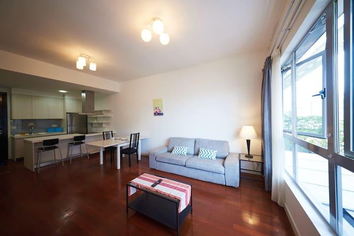 1bdr easy travel in KL Bukit Bingtan Changkat - 吉隆坡 - 公寓