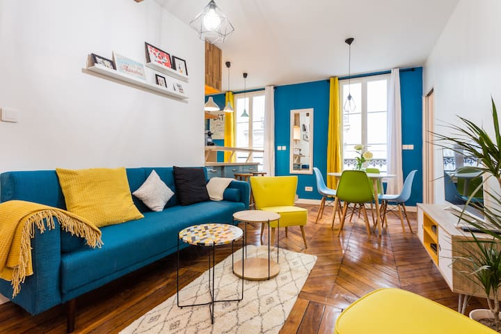 Beautiful typical parisien apartment - Paris - Apartment